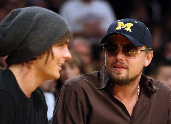 Zac Efron and Leonardo DiCaprio